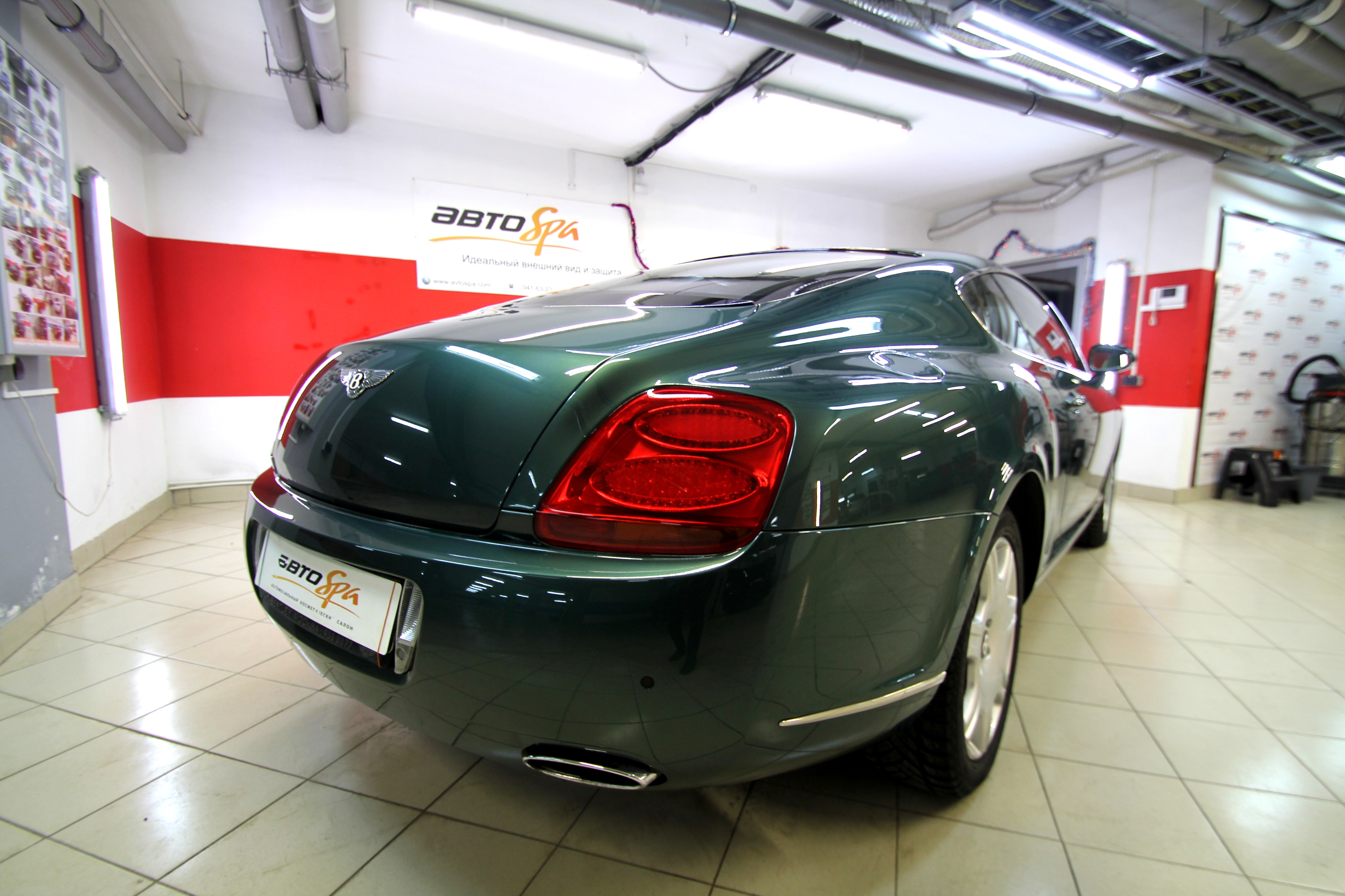 bentley continental после обработки фото